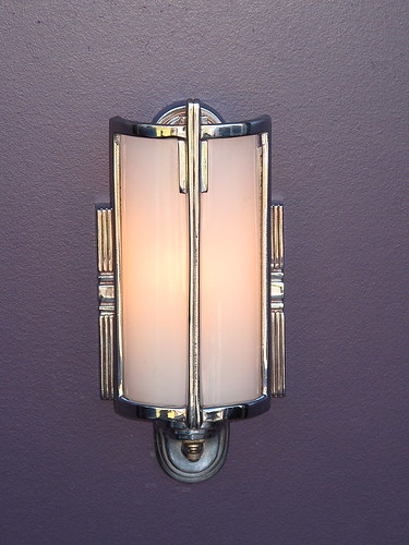 Vintage Chrome Bathroom Wall Light