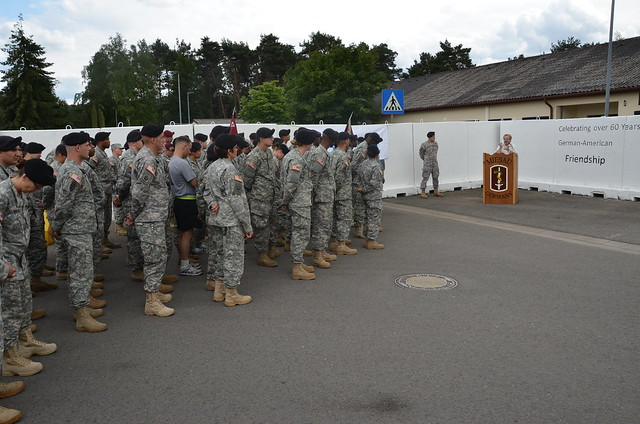 Miesau Mural June 2011 Soldiers Teamwork Creates Symbol