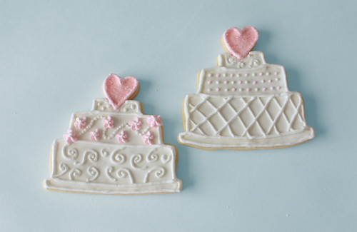 wedding cake christmas cookies wedding cake sugar cookie www beeskneescreative flickr 22196