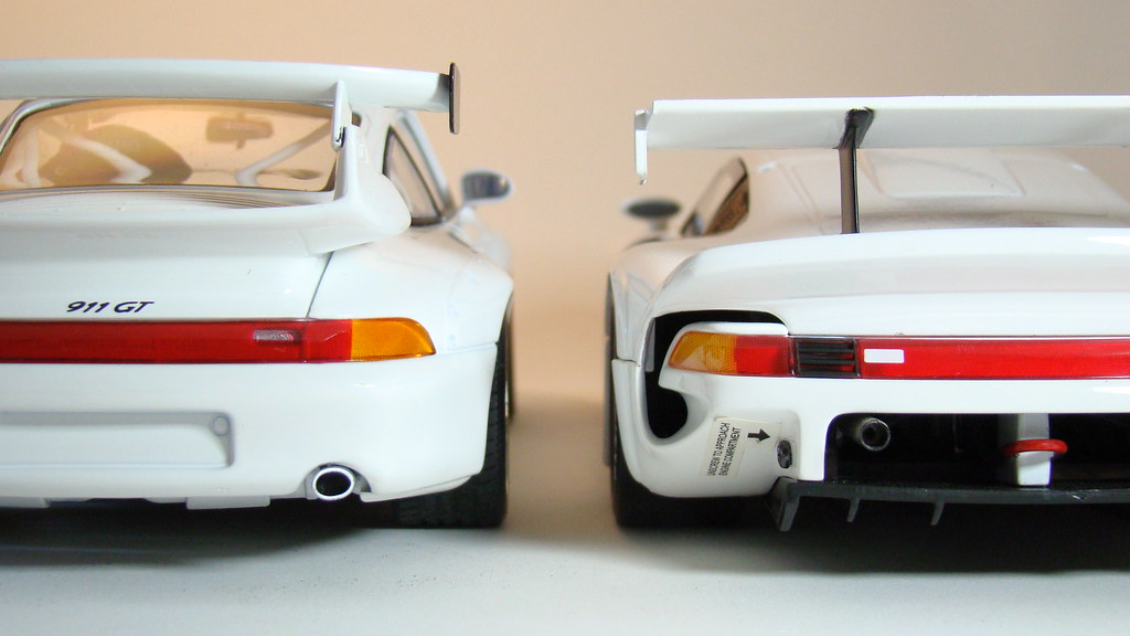 porsche 39 s 911 993 gt2 x gt1 diecast 1 18 scale by ut m flickr. Black Bedroom Furniture Sets. Home Design Ideas