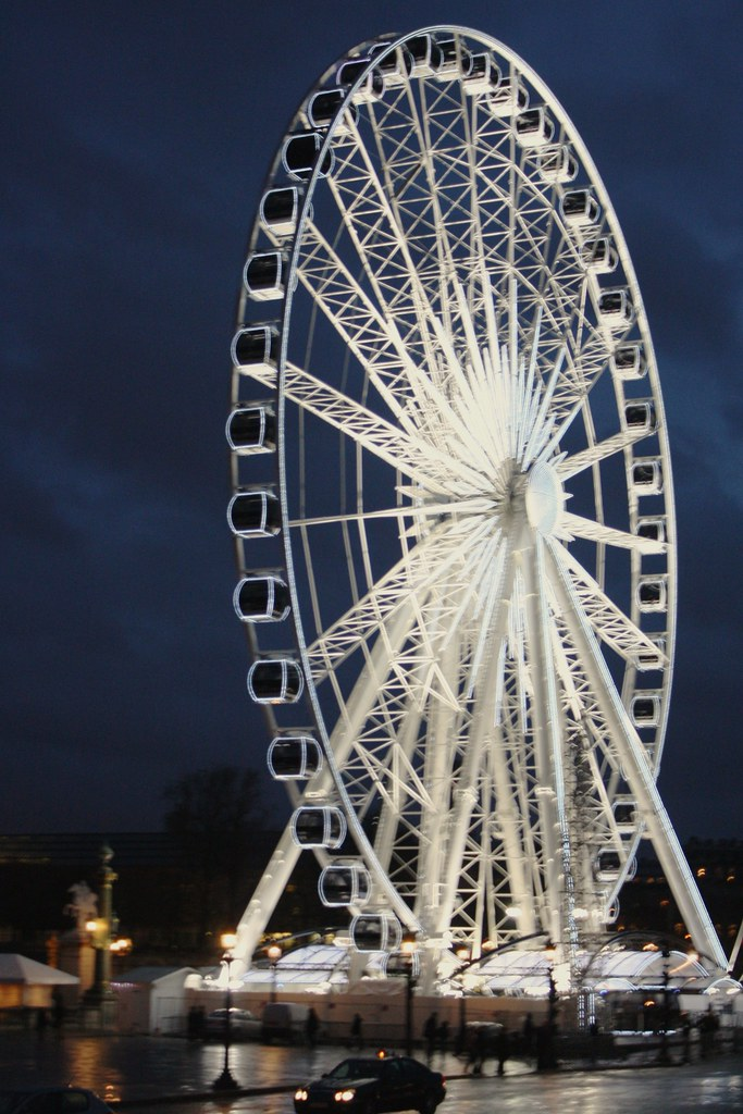 la grande roue ferris wheel paris france from virtual flickr. Black Bedroom Furniture Sets. Home Design Ideas