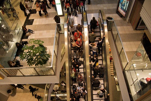 Black Friday at Westfield San Francisco Centre 2009 | by Steve Rhodes