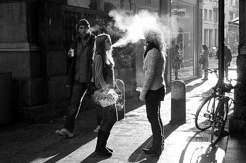 Smoking in the light | by Donato Buccella / sibemolle