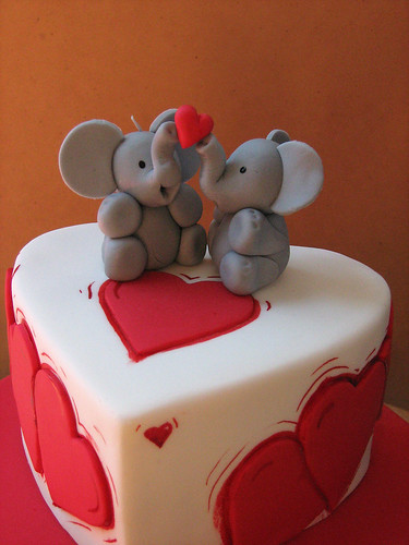 elephants | by Sweet Disposition Cakes