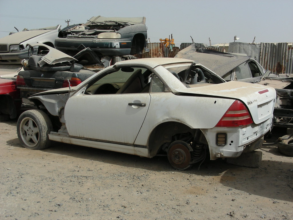 down the on slc find of mercedes truth martin picture courtesy murilee benz about cars junkyard
