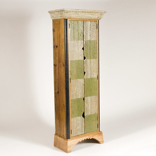 Tall Checkered Cabinet | by Bradford Woodworking