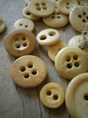 bone buttons | by lilfishstudios