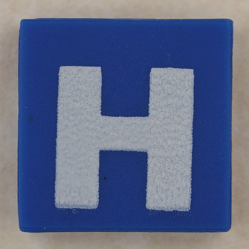 counterfeit Lego letter H | by Leo Reynolds