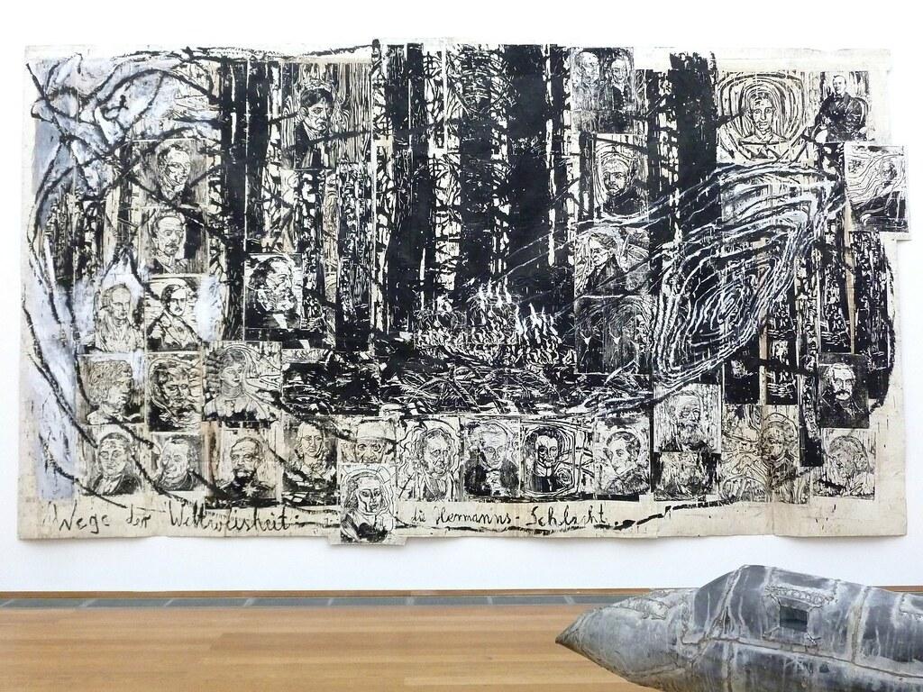 Exposition au musée d'art contemporain de Berlin - Photo de Nicolas.