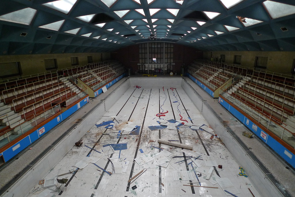 Victoria Swimming Pool Portsmouth Built In 1961 33 3 M Flickr