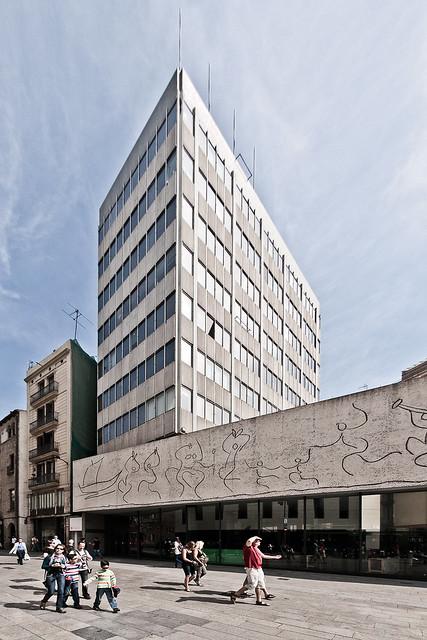 Sede colegio oficial de arquitectos de catalu a coac - Colegio arquitectos barcelona ...