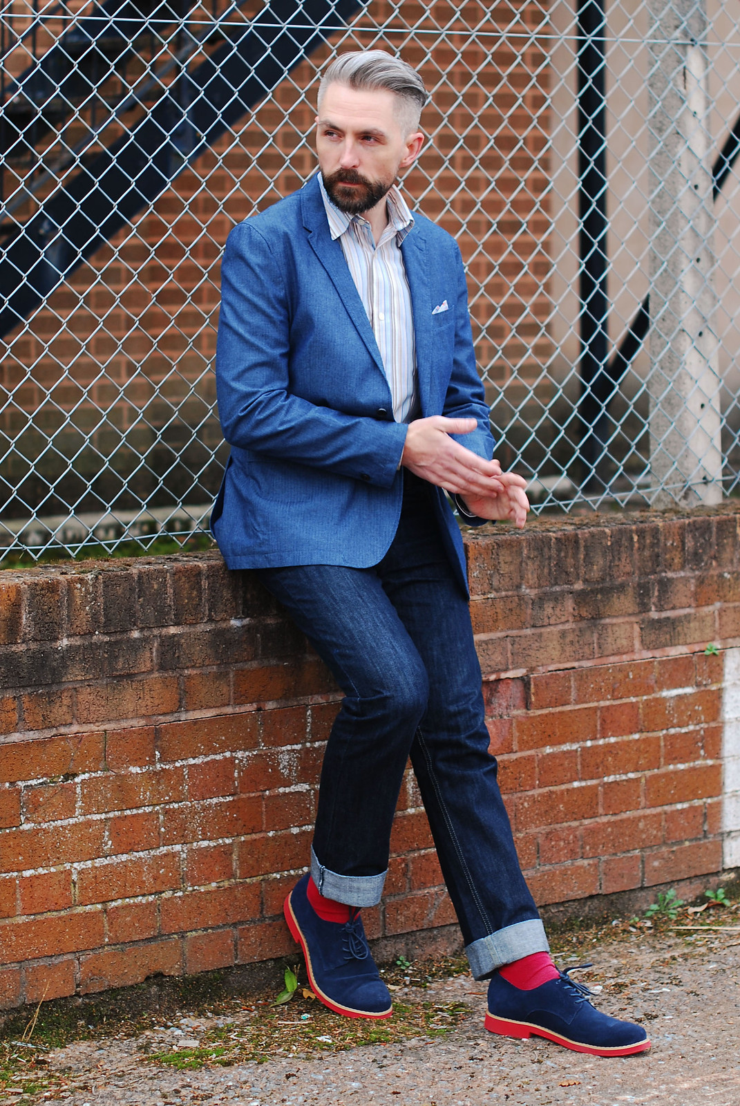 Relaunched: The Husband's Over 40 Menswear Blog #SaturdayShareLinkUp