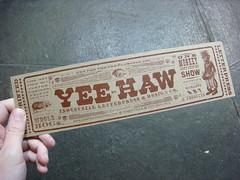 Yee-Haw Industries show