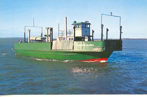 Drummond Island Ferry Snwomobile