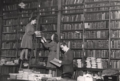 045790:Temporary Lending Library Central Library New Bridge Street Newcastle upon Tyne Unknown 1949 | by Newcastle Libraries