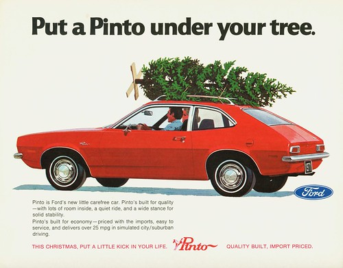 1971 Ford Pinto @ Christmas | by aldenjewell