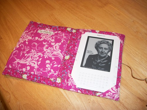 Handmade Kindle 2 Cover/case ~open