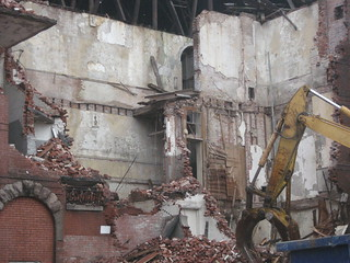 drexel school demolition | by sara girlscantell