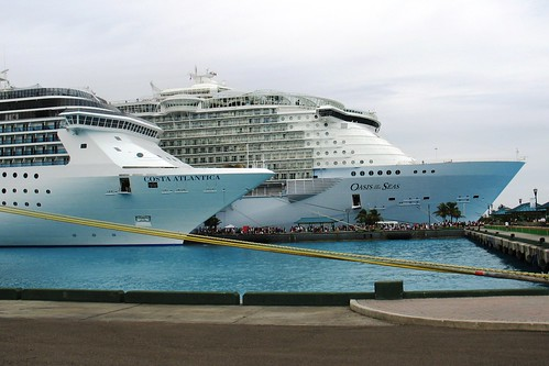 Costa Atlantica and Royal Caribbean Oasis of the Seas | by blmiers2