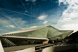 Spaceship Under Attack ! (at Liege Guilemins) | by Gilderic Photography