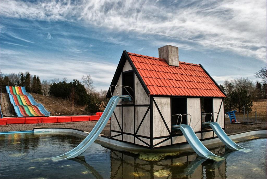 Abandoned Amusement Park Troels Dejgaard Flickr