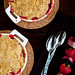 Strawberry Rhubarb Crumbles