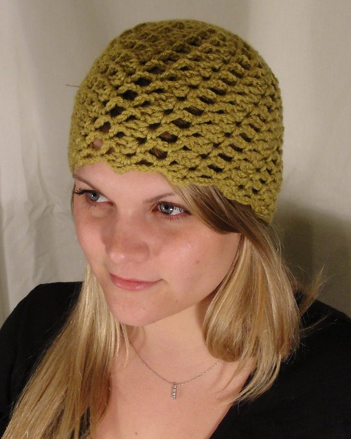 Swirled Shells Hat Cloche Crochet Pattern Cute Quick And Flickr