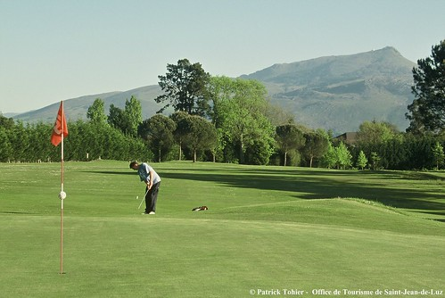 Golf office de tourisme de st jean de luz joueur de golf flickr - Office tourisme saint jean de luz ...