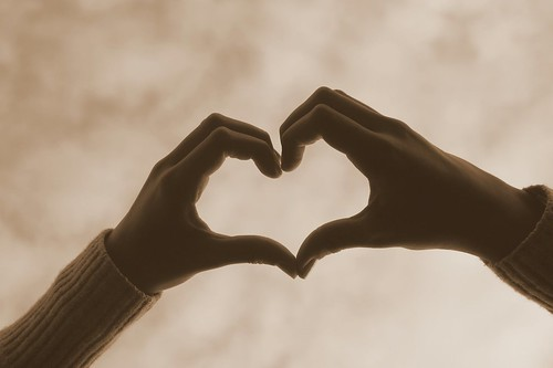 """Two Lives Two Hearts Joined Together in Friendship """"two Lives Two Hearts Joined"""