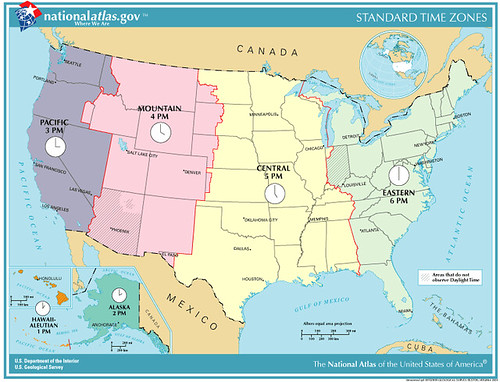 United States Time Zone Chart: US Time Zones | This is a map of the time zones in the USA u2026 | Flickr,Chart