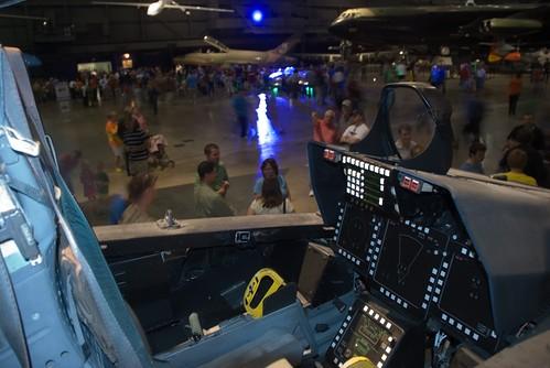 Cockpit F-22 Raptor