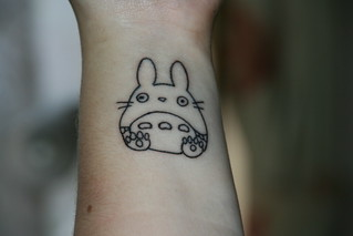 my first tattoo !! :D (chu totoro) | by miss landy