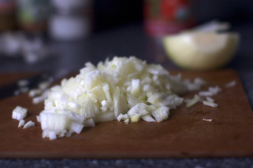 finely chopped onion | by smitten kitchen