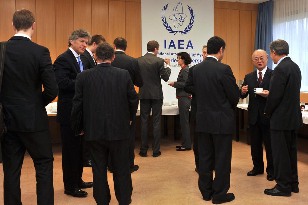 01310527 | IAEA Member States arrive for the ...