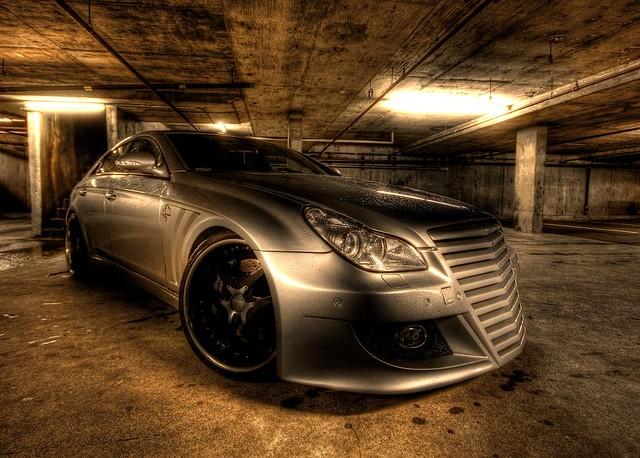 Mercedes Cls 500 Shark Ii Custom Garage Grunge