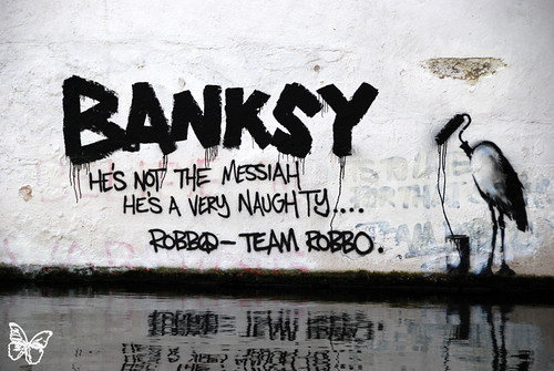 Team Robbo vs Banksy | by s.butterfly