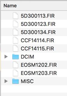 550d firmware update process from canon menu
