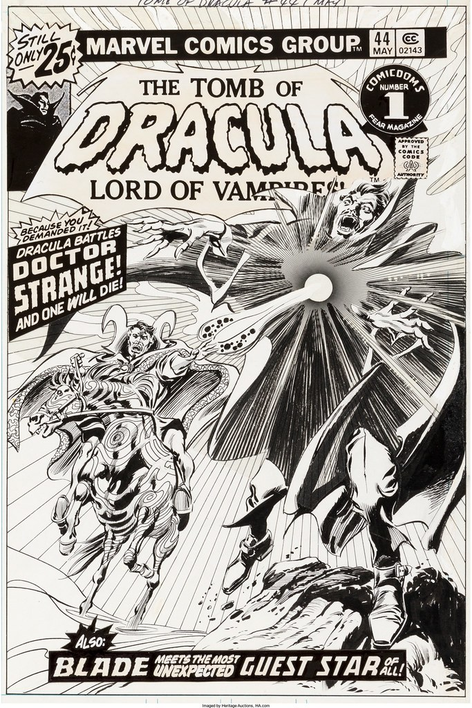 Tomb of Dracula 44 cover Dr Strange