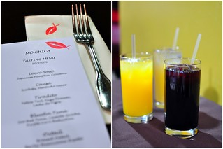 MENU AND BEVERAGES | by Cathy Chaplin | GastronomyBlog.com