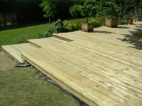 Fabricant terrasse bois jmh charpentes est fabricant terra flickr - Fabricant lambrequin bois ...