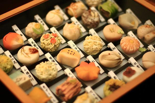 和菓子 : Japanese sweet