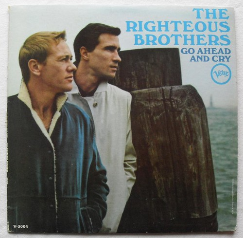 1960s The Righteous Brothers Go Ahead And Cry Verve Record