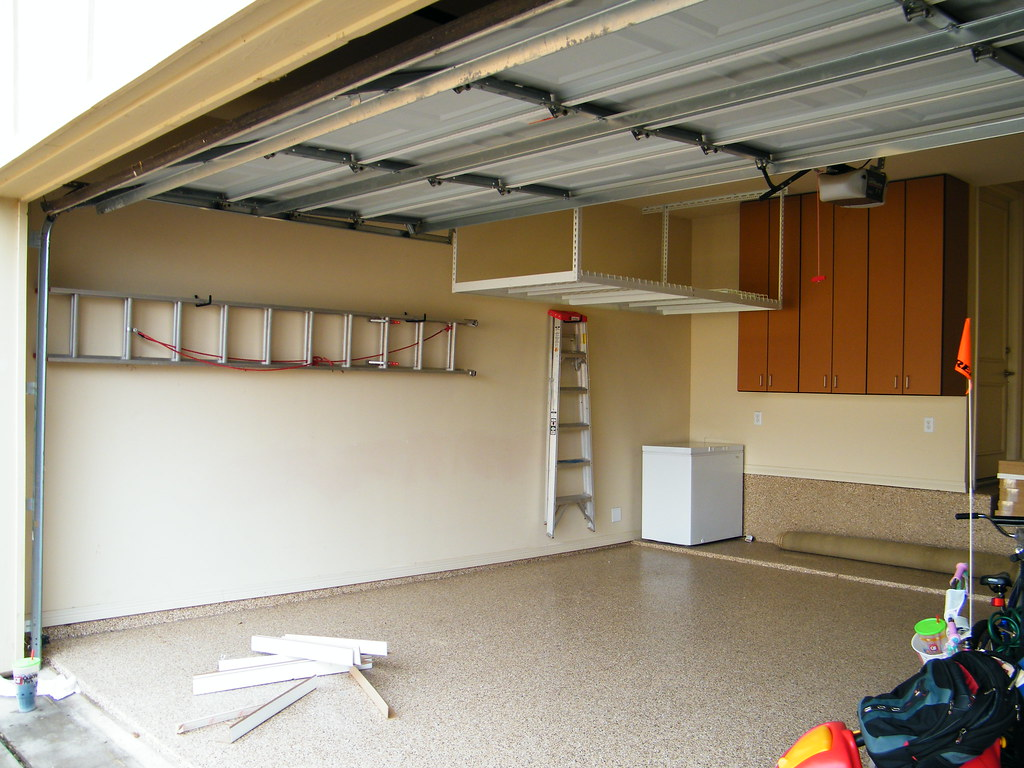 Floor Cabinets Overhead Storge And Ladder Hangers Flickr