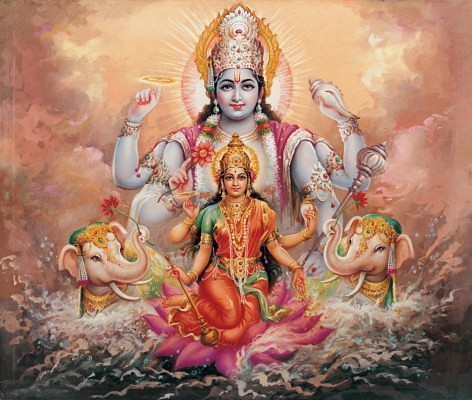 Lakshmi Stuti By Lord Indra : The source of all wealth