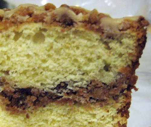 Sour Cream Coffe Cake With Broiled Topping