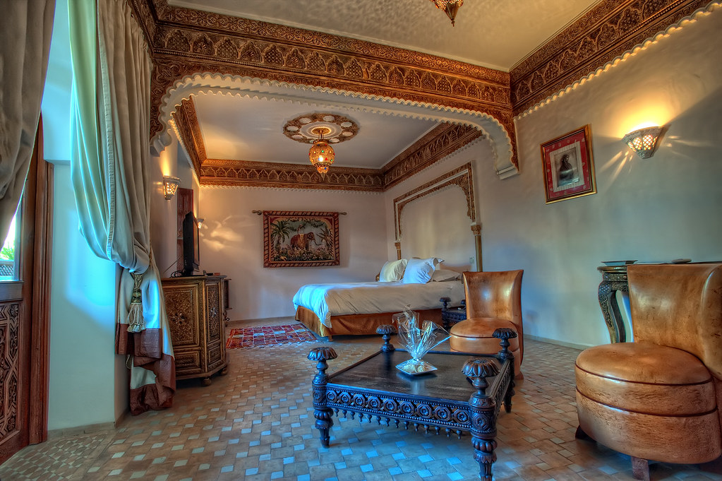 Indian suite marrakech morocco hdr hdr from five bracke flickr - Decoracion marruecos ...