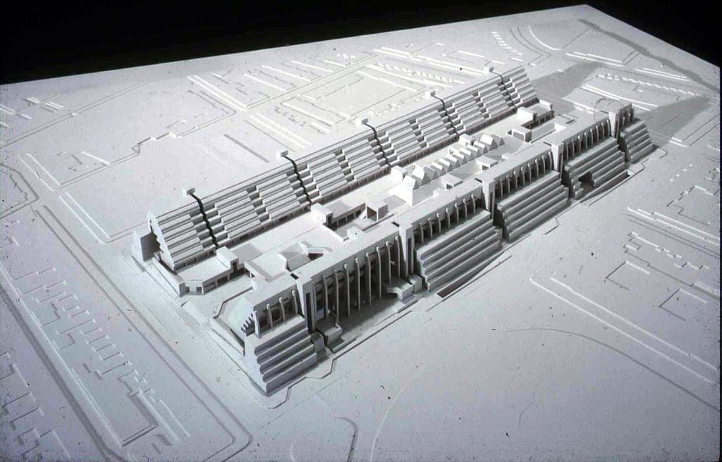 The Brunswick Centre 3d Model Of The Brunswick Centre
