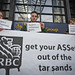Calgary Action Calling on RBC to get their ASSets out of the Tar Sands