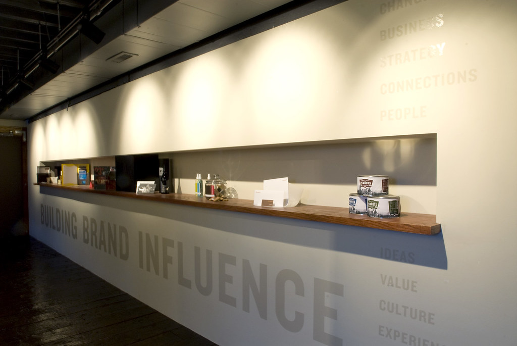 Urban Influence Office Display Wall Our Portfolio