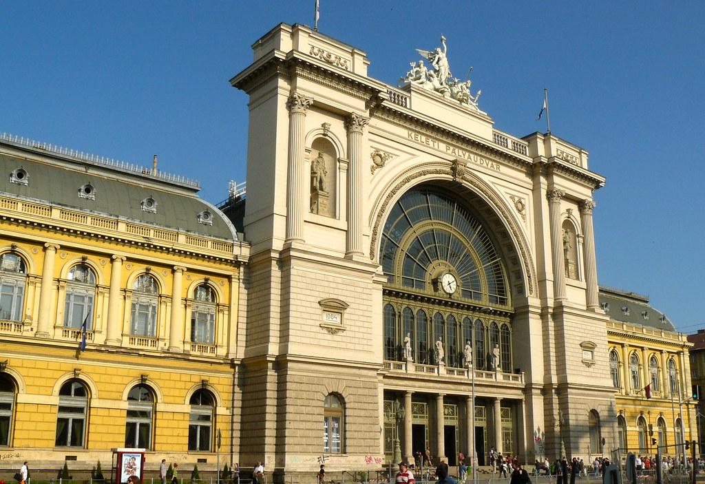 budapest hongrie la gare budapest keleti budapest kelet flickr. Black Bedroom Furniture Sets. Home Design Ideas